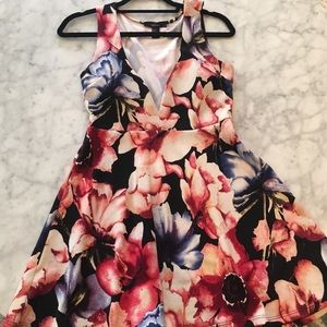 Cute and Flirty Floral Dress